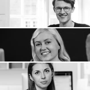 Mathias Vind Nielsen, Laura Amalie Sommer & Lima Curtis