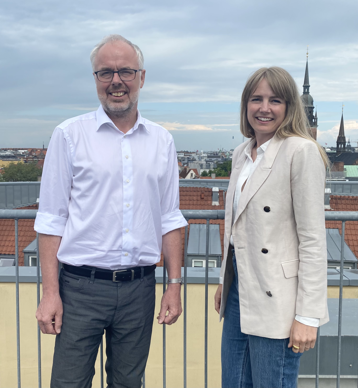 Paul Svinth Jensen og Charlotte Nordland