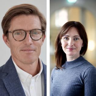 Jannik Schack og Mathilde Torp Carlsen